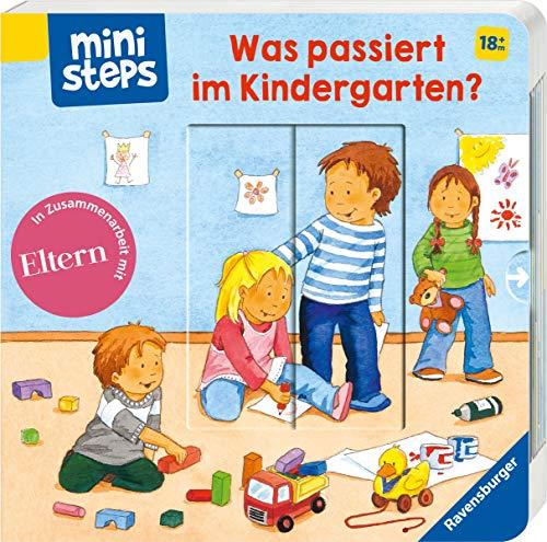 ministeps: Was passiert im Kindergarten?: Ab 18 Monaten (ministeps Bücher)