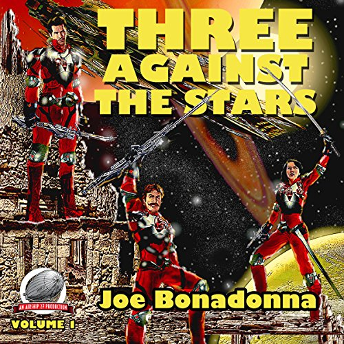 Three Against the Stars audiobook cover art