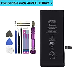 Upplus 616-00255 Replacement Battery Compatible with iPhone 7 4.7
