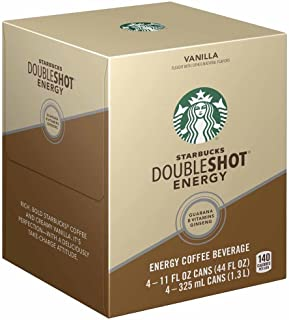 Starbucks Doubleshot Coffee and Protein, Vanilla, 4 Count