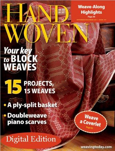 Interweave Handwoven – listopad/grudzień 2011
