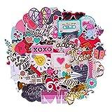 FaCraft Scrapbooking Supplies Ephemera Die Cuts Stickers (95 pcs Love)