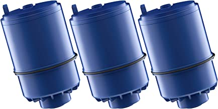 AQUA CREST RF-9999 Water Filter, Compatible with Pur RF-9999 Faucet Replacement Water Filter (Pack of 3)