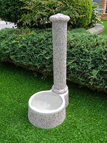 Fontaines de Jardin crocetta CM40 x 54 x 100h Multicolor lavé