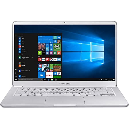 "Samsung Notebook 9 NP900X5T-K01US Traditional Laptop (Windows 10 Home, Intel Core i7, 15"" LCD Screen, Storage: 256 GB, RAM: 8 GB) Light Titan"
