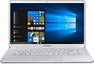 Samsung Notebook 9 NP900X5T-K01US Traditional Laptop (Windows 10 Home, Intel Core i7, 15