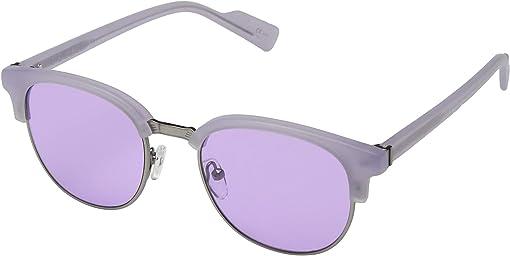 Lilac Satin/Silver Chrome Lavender