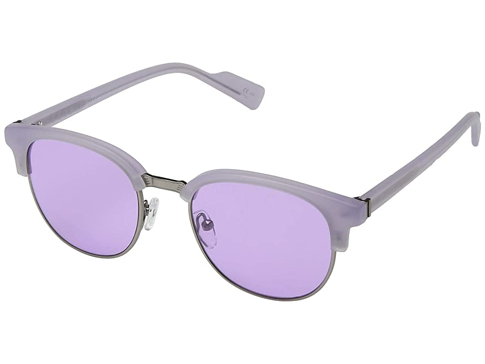 VonZipper Citadel (Lilac Satin/Silver Chrome Lavender) Athletic Performance Sport Sunglasses