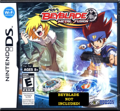 Beyblades Nintendo DS Video Ranking TOP19 Game Miami Mall Metal Fusion Beyblade Standard