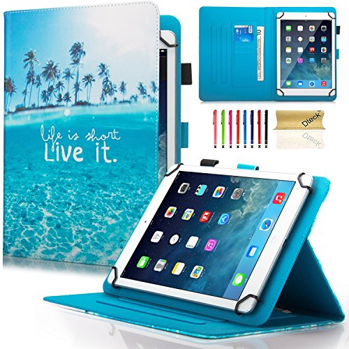 Dteck Schutzhülle für Samsung Galaxy Tablet, Apple iPad, Amazon Kindle, Google Nexus & weitere 16,5-26,7 cm (6,5-10,5 Zoll) Tablet 051 Live It for 7.5-8.5 inch Tablet