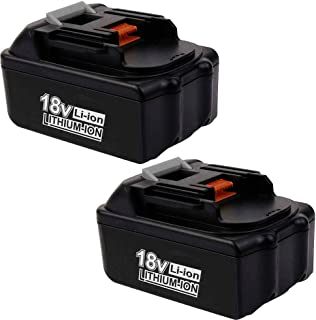 18V 3.0Ah BL1830 Battery Lithium Replacement for Makita 18 Volt BL1850 BL1850B BL1860B BL1860 BL1830 BL1840 BL1845 BL1815 BL1820 BL1835 194205-3 LXT-400 Batteries 2 Packs