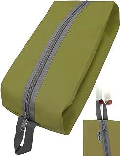 Outdoor Saxx - Camping-Tasche Zelt-Tasche Schuh-Tasche Kleider-Beutel Ausrüstungs-Tasche Kulturbeutel, Reißverschluss Schlaufe strapazierfähig, 35x15x10cm grün
