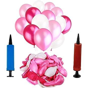 Ballonpumpe für Party Latex Aufblasbares Spielzeug Folienballons Luftballons CL