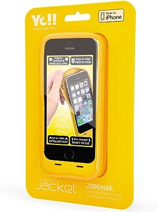 Capa Carregadora Para iPhone 5/5s/SE Amarela - Ye!!