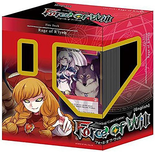 Force of Will TCG Rage of R'lyeh Fire Starter Deck by Yu-Gi-Oh!