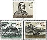 Prophila Collection DDR 3238-3240 (kompl.Ausgabe) 1989 Ferneisenbahn (Briefmarken für Sammler) Eisenbahn
