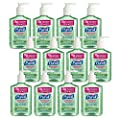 PURELL Advanced Hand Sanitizer Soothing Gel, Fresh scent, with Aloe and Vitamin E- 8 fl oz pump bottle (Pack of 12) - 3016-12-CMR