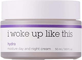 I WOKE UP LIKE THIS Hydra Moisture Day and Night Cream – Moisturizer with Ceramide and Niacinamide. Moisturizing, Brightening, and Anti-aging Effect for Dry and Dull skin