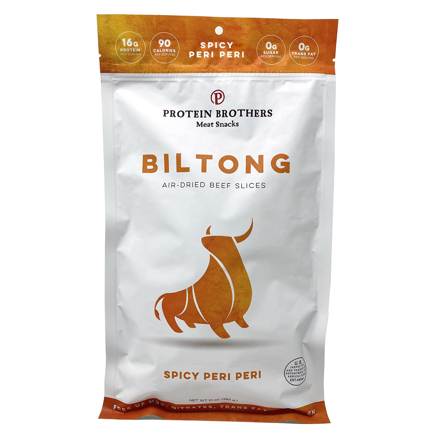 Protein Brothers Biltong Beef Our shop most popular Jerky Max 75% OFF Sugar Low Carb 0g Snack