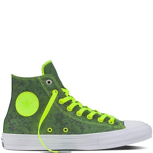bb5baae50662 Converse Unisex Adults  Chuck Taylor All Star Ii Reflective Camo Hi-Top  Sneakers