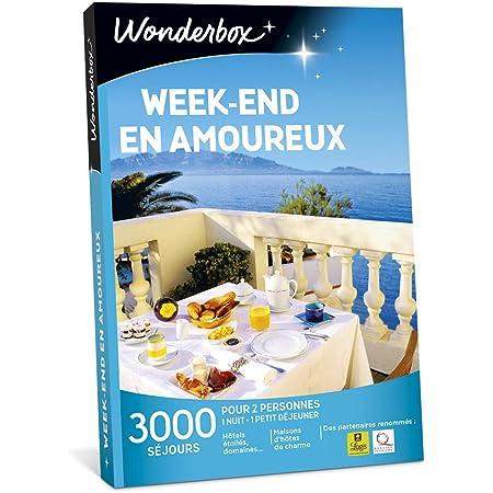 Wonderbox - Coffret cadeau duo - WEEK-END EN AMOUREUX - 2900 séjours romantiques