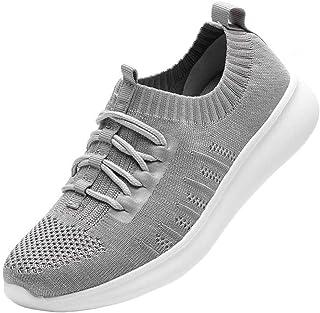 DADAWEN Femme Basket Sneakers Chaussures de Course Running Sport