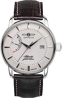 Zeppelin - Serie Atlantic 8462 - Reloj de pulsera automático para hombre con correa de cuero