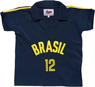 Retro League Brazil Volleyball 1984 Kids Shirt