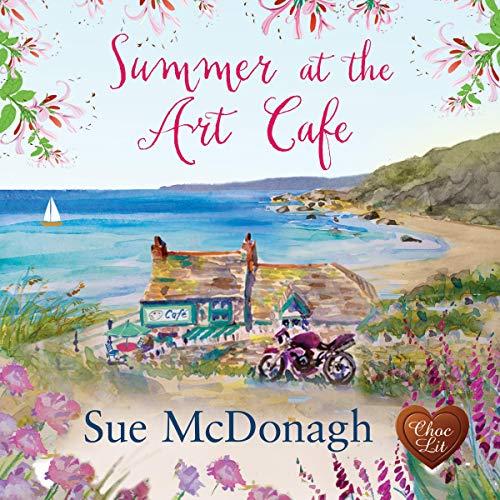 Summer at the Art Café audiobook cover art