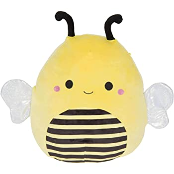 Squishmallow Kellytoy Bugs Life 8 inch Sunny The Bee- Super Soft Plush Toy Pillow Pet Animal Pillow Pal Buddy Stuffed Animal Birthday Gift Holiday