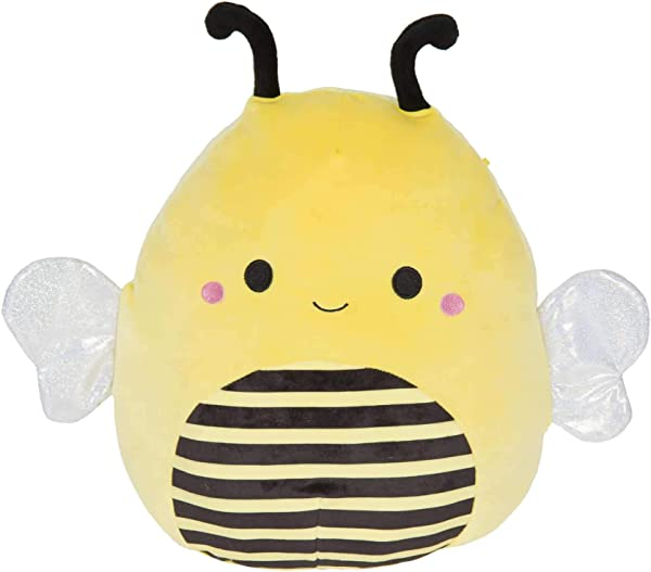 Squishmallow Kellytoy Bugs Life 8 Sunny The Bee Super Soft Plush Toy Pillow Pet Animal Pillow Pal Buddy Stuffed Animal Birthday Gift Holiday