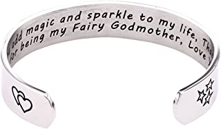 Melix Home Fairy Godmother Gift - You add Magic and Sparkle to My Life. Thank You for Being My Fairy Godmother.