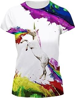 Sommer Damen Ärmellos Weste Regenbogen Good Vibes Rundhals Top T-shirt Mode Heiß