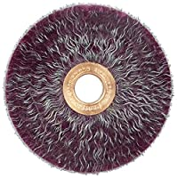 Weiler 35260 Polyflex Encapsulated Crimped Wire Wheel, 3 Small Diameter, 0.14 Steel Fill, 1/2 Arbor Hole (Pack of 10) by Weiler