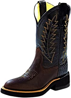 Old West Boys' Cowboy Boot Distressed
