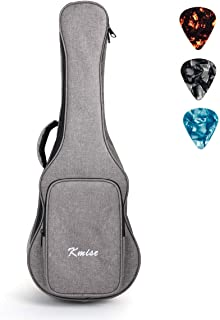 Concert Ukulele Gig Bag 23 inch Soft Carring Case Double Strap With 3 Picks by Kmise