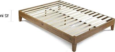 Amazon Com Zinus Marissa 12 Inch Wood Platform Bed No