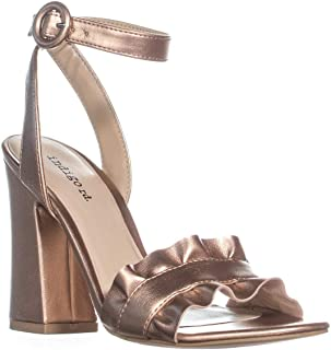 Womens Sandie 2 Open Toe Casual Ankle Strap, Gold ll, Size 10.0