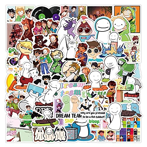 ZIWEI Anime Dream Graffiti Pegatinas Estética Kpop Diy Guitarras Refrigerador Portátil Impermeable Dibujos Animados Pegatinas Para Niños 50 Unids
