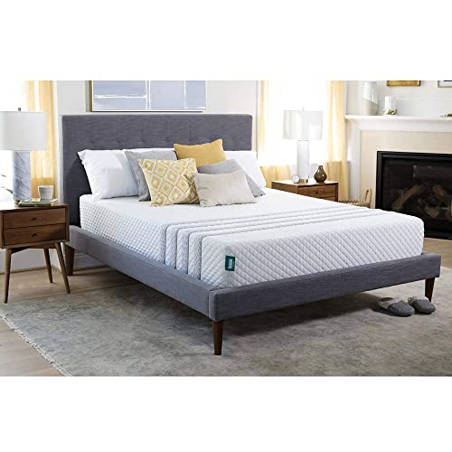 Leesa MKSP02US King Sapira Luxury Mattress, White and Grey