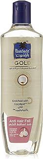 Parachute Gold Anti Hairfall Coconut & Garlic Hair Oil, 100% natural cocolipid nourishment, 300 ml