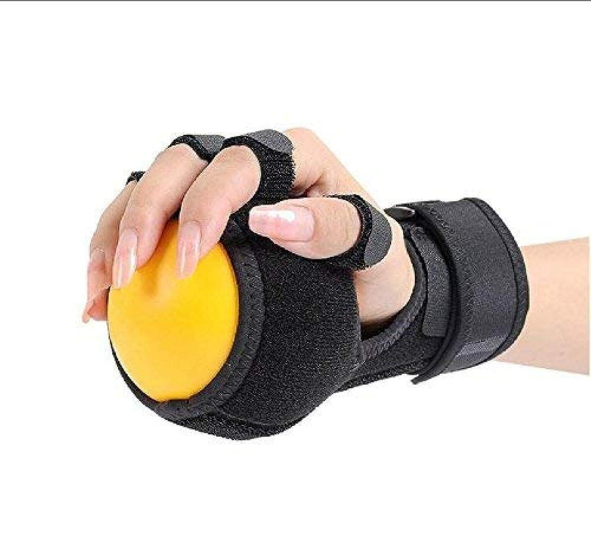 ためらう卑しい深める関節炎ハンドボールリハビリテーションのためのトリガー指装具親指サポートのためのトリガー指副木