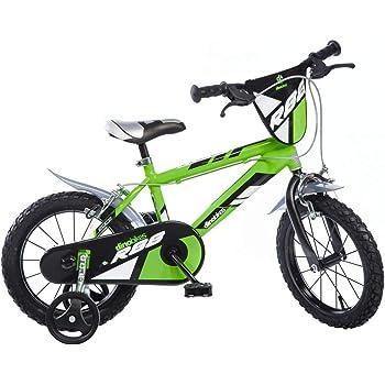 Bici Bicicletta BMX Taglia 16 per Bambino 5-7 anni con Accessori Inclusi