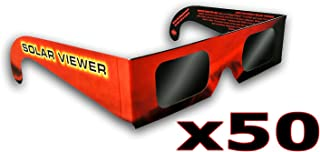 Solar Eclipse Glasses (Pack of 50) CE & ISO Certified