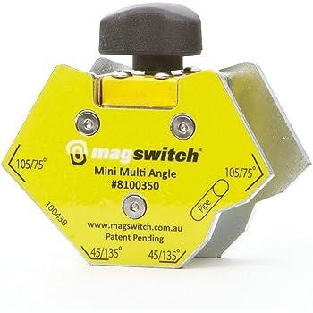 Magswitch MAGSQUARE 165 68 kg capacidad de retenci/ón En la plaza de sujeci/ón//apagado magn/ético con 150 lb
