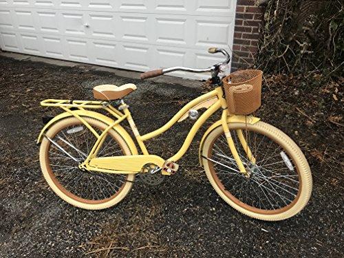 "26"" Huffy Nel Lusso Women's Cruiser Bike (Butter Yellow)"