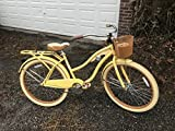 "26"" Huffy Nel Lusso Women's Cruiser Bike (Butter Yellow)"