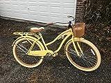 26' Huffy Nel Lusso Women's Cruiser Bike (Butter Yellow)