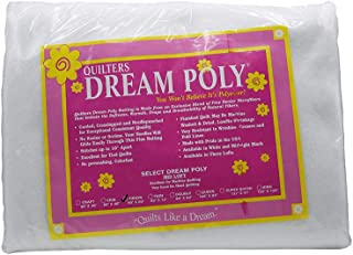 Quilter's Dream Poly Batting - Select -White-Mid-Loft - Throw