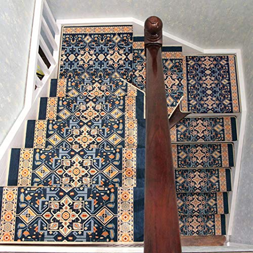 FUTNHomtex Veiligheid Anti-slip stap banden, hout, traptreden, vloerrail, sticker, trapbeschermingmatten voor skateboard & outdoor & trap, mandala mat